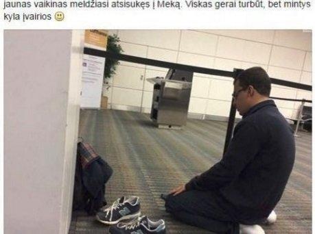 Facebook.com/Rasos Juknevičienės pasisakymas apie besimeldžiantį musulmoną sukėlė audrą internete.