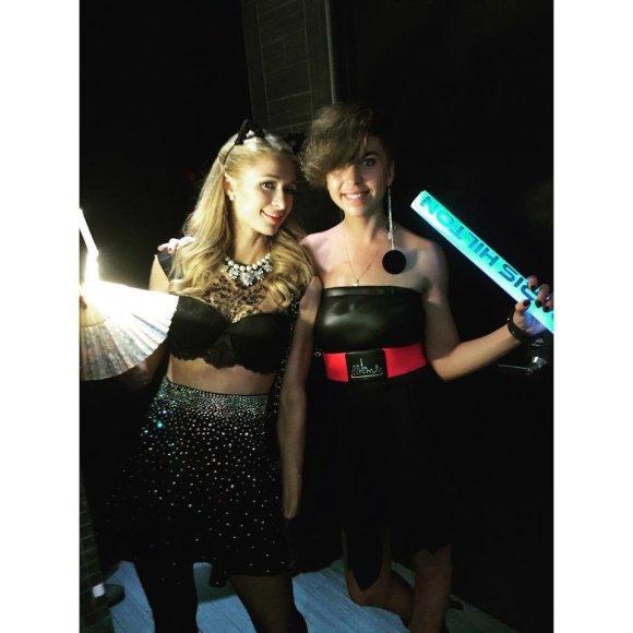 Asmeninio albumo nuotr./Paris Hilton ir Simona Albavičiūtė-Bandita