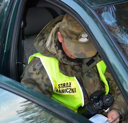 Lenkijos Sienos apsaugos pareigūnas