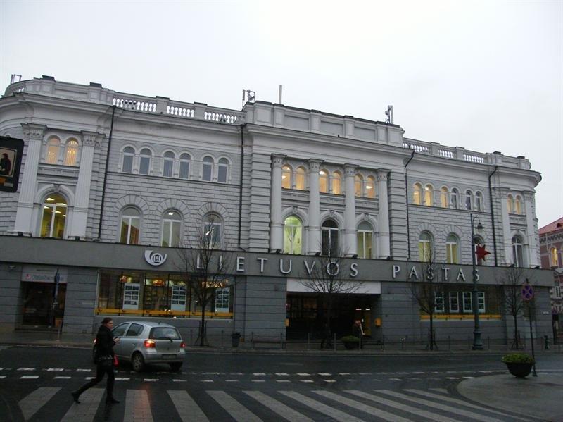 Architekto Vytauto Nasvyčio darbai – Vilniaus centrinis paštas