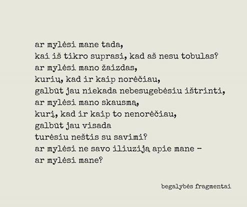 Monika Šedžiuvienė savo vyrui Andriui Šedžiui skyrė eilėraštį