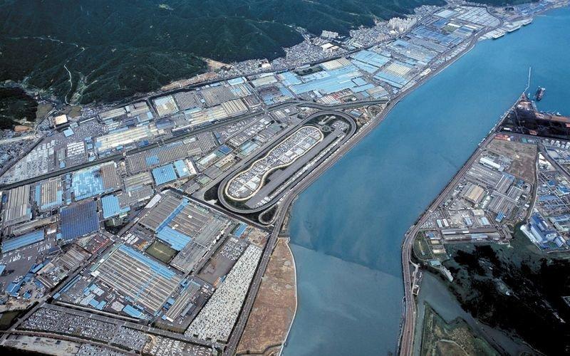 """""""Ulsan"""" gamykla Pietų Korėjoje"""