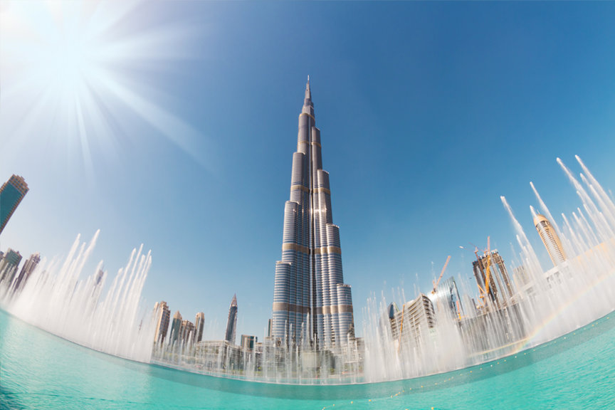 Burj Khalifa Dubajuje