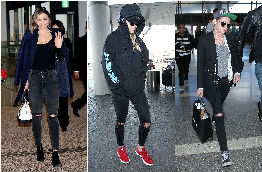Vida Press nuotr./Miranda Kerr, Rita Ora, Kristen Stewart