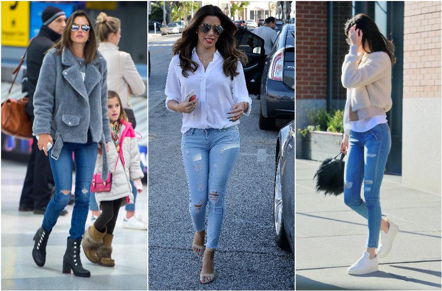 Vida Press nuotr./Alessandra Ambrosio, Eva Longoria, Kendall Jenner