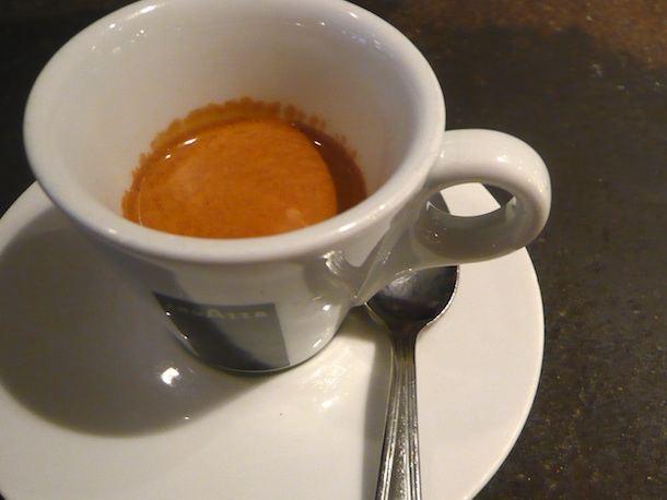 Projekto partnerio nuotr./Tikra itališka espreso kava 25-30 ml