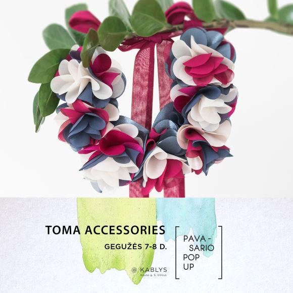 """Organizatorių nuotr./""""Pavasario Pop up"""" dalyvis: """"Toma Accessories"""""""