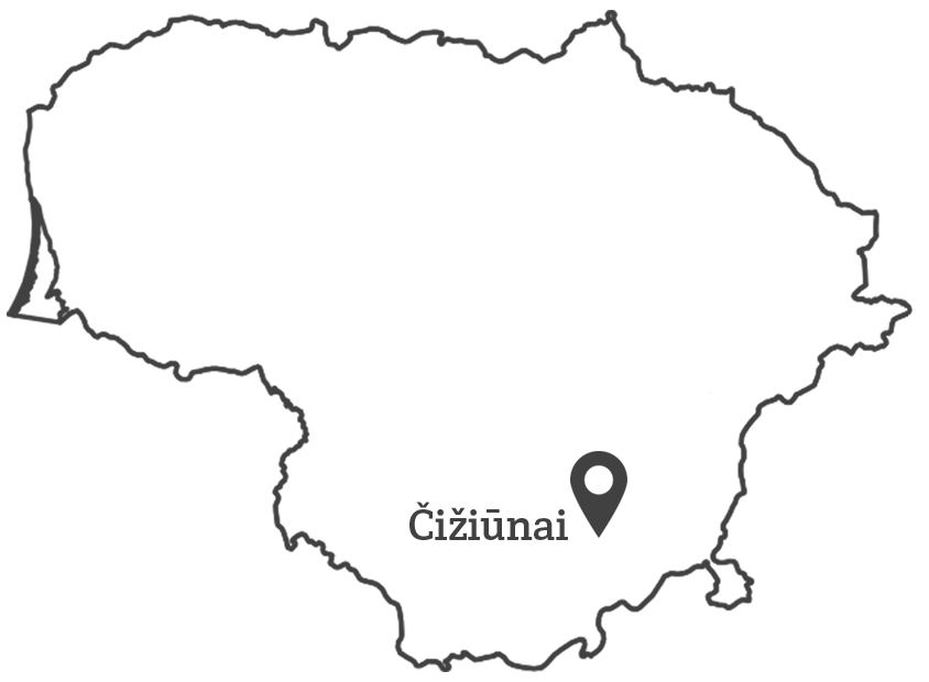 Ciziunai: map_Grey