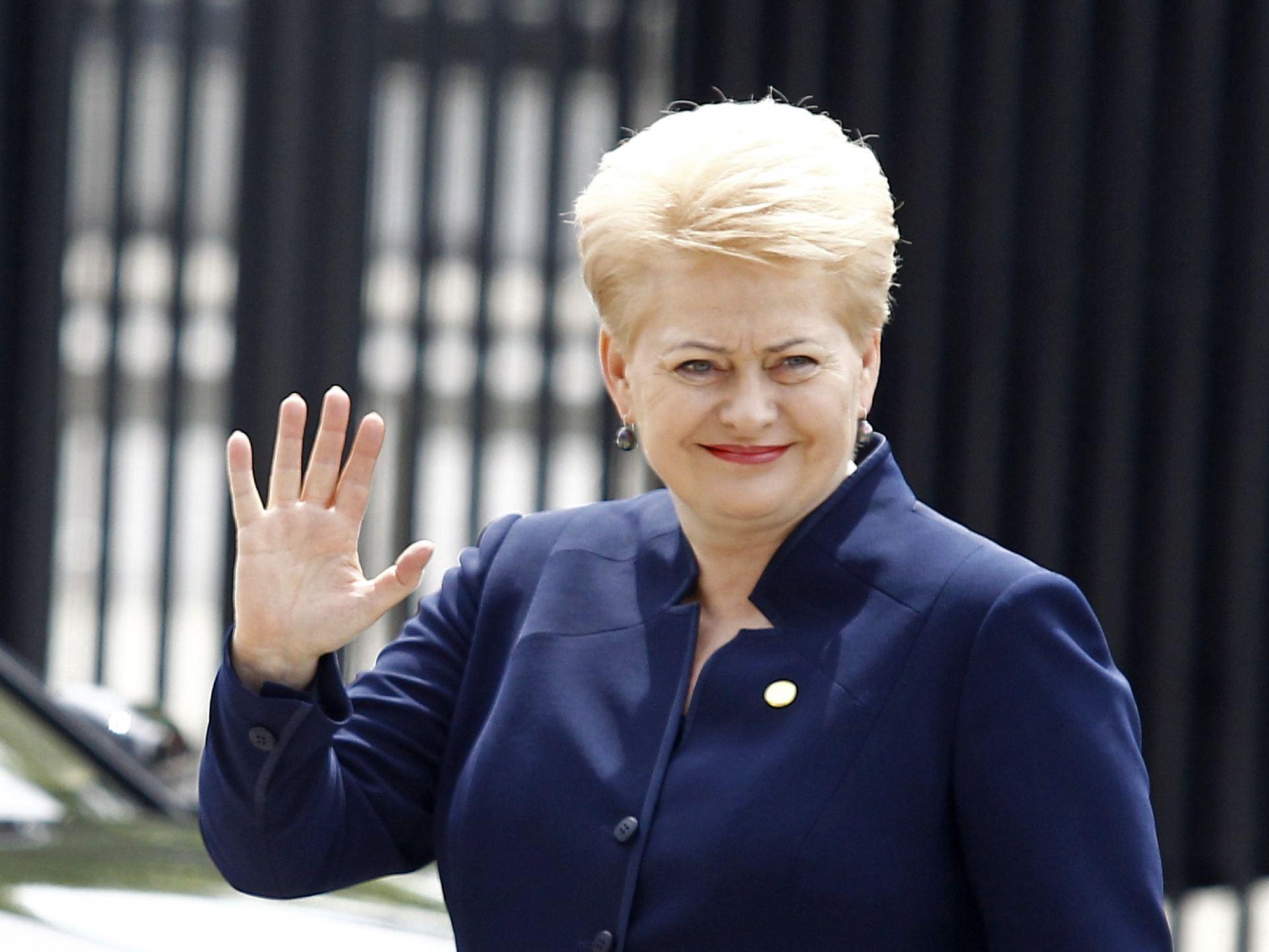 """Vaizdo rezultatas pagal užklausą """"dalia grybauskaite"""""""