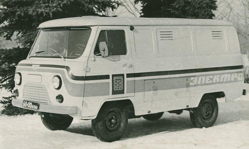 Rusiškas elektromobilis UAZ 451MI