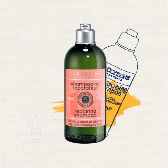 """""""L'Occitane"""" nuotr./Sausų ir pažeistų plaukų šampūnas"""