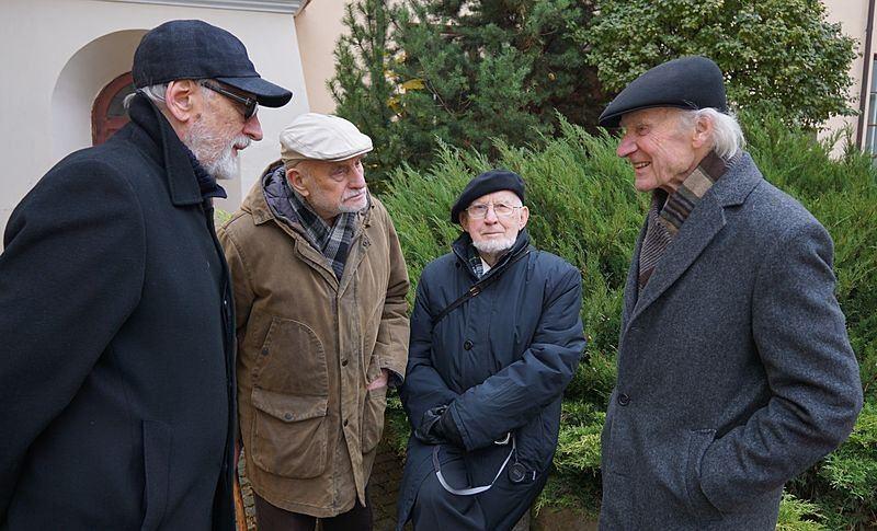 Nacionalinės architektūros patriarchai: Vytautas Dičius, Vytautas Brėdikis, Algimantas Mačiulis, Algimantas Nasvytis