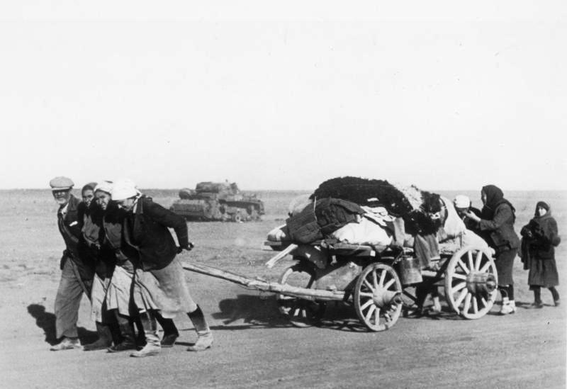 Karo pabėgėliai 1942-aisiais metais