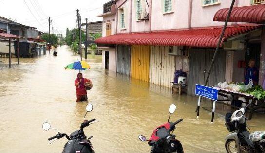 Potvynis Malaizijoje