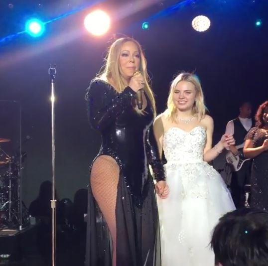 Mariah Carey ir Irene Kogan