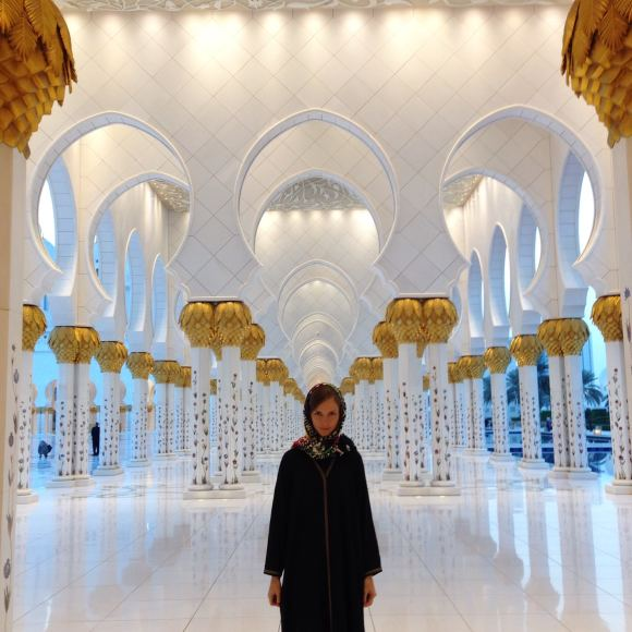 Vaidos Vincevičiūtės nuotr./Vaida Vincevičiūtė Dubajuje