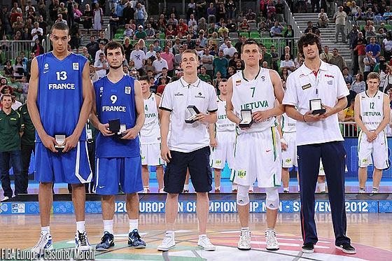 FIBA.com nuotr./2012-ųjų dvidešimtmečių Europos čempionatas Liublianoje