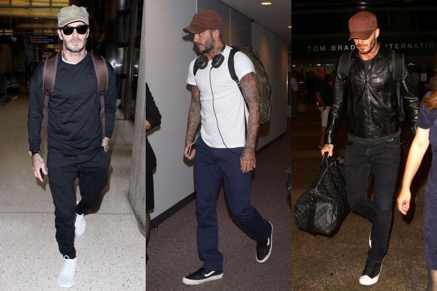 Vida Press nuotr./Davido Beckhamo stilius