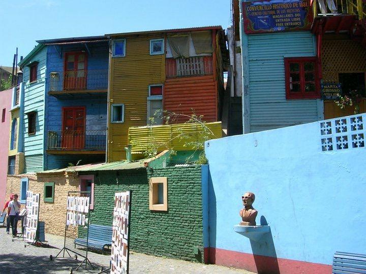 Užsakovo nuotr./Argentinos gatvės