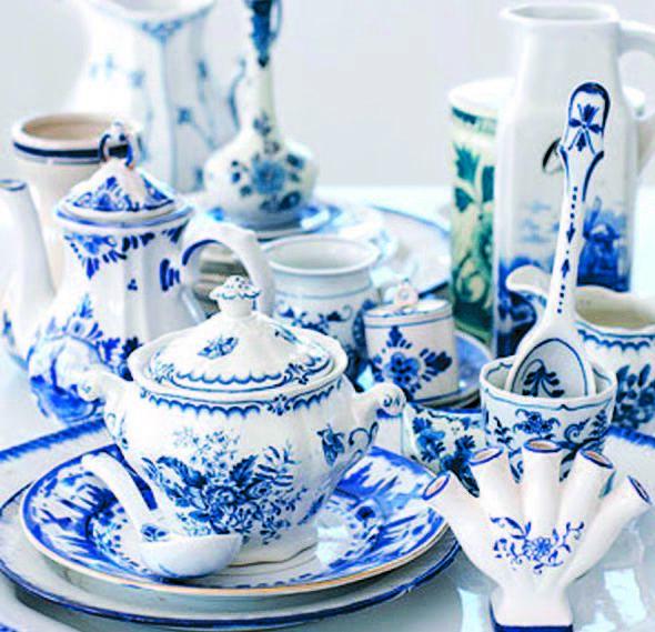 Skonis.lt archyvo nuotr. /Baltai mėlynas šių dienų porceliano dekoras