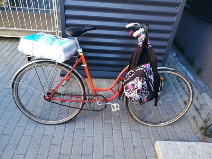"""Klaipėdoje ieškomas šio """"Tanturi"""" dviračio savininkas"""