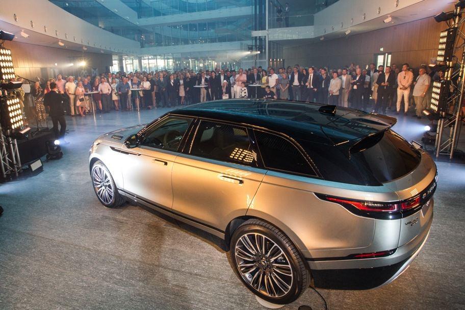"""""""Range Rover Velar"""" pristatymas Lietuvoje"""
