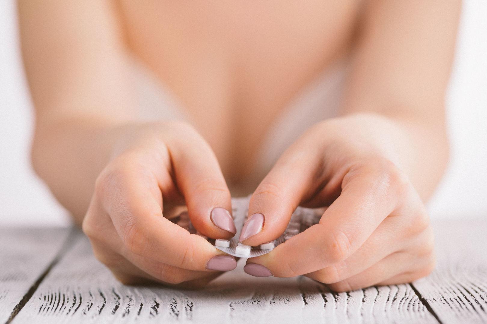 tipiškas svorio kritimas su kontracepcija