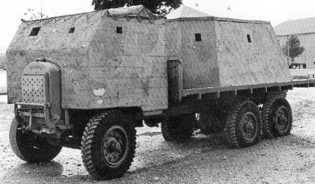 1940–1941 m. britai gamino betoninius sunkvežimius