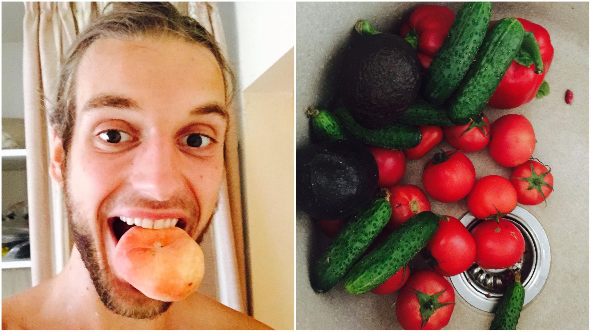 vaisiai ir daržovės varpos augimui)