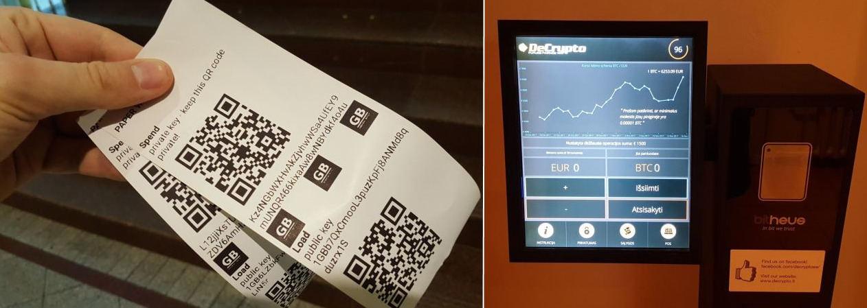 bitcoin bankomatas