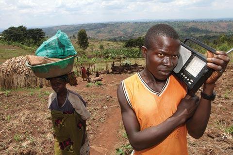 Radijas yra viena svarbiausių visuomenės informavimo priemonių Burundyje