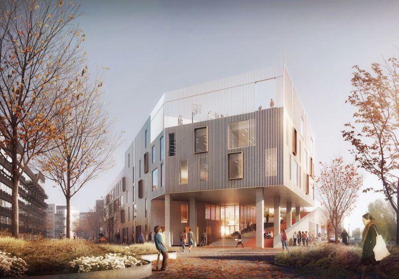 Nauja mokykla Kopenhagoje
