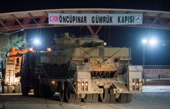 Turkijos kariuomenė įžengė į Sirijos kudrų teritoriją