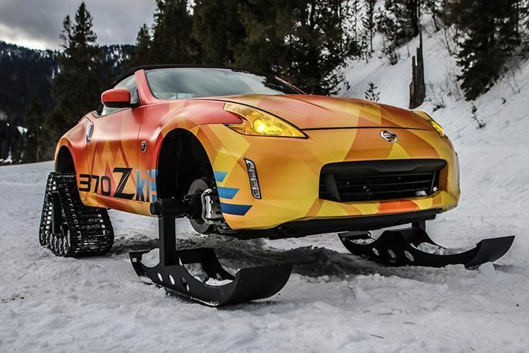 "Koncepcinis sniegaeigis  ""Nissan 370Z"""