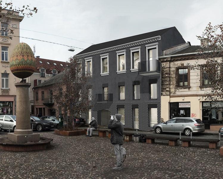 Projektas Raugyklos gatvėje
