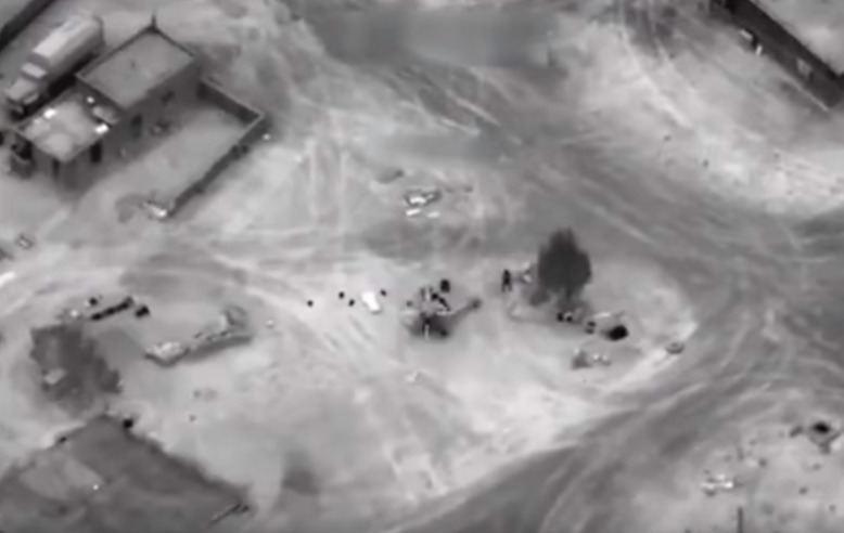 JAV vadovaujamos koalicijos kontrataka prieš Damaską palaikančias pajėgas