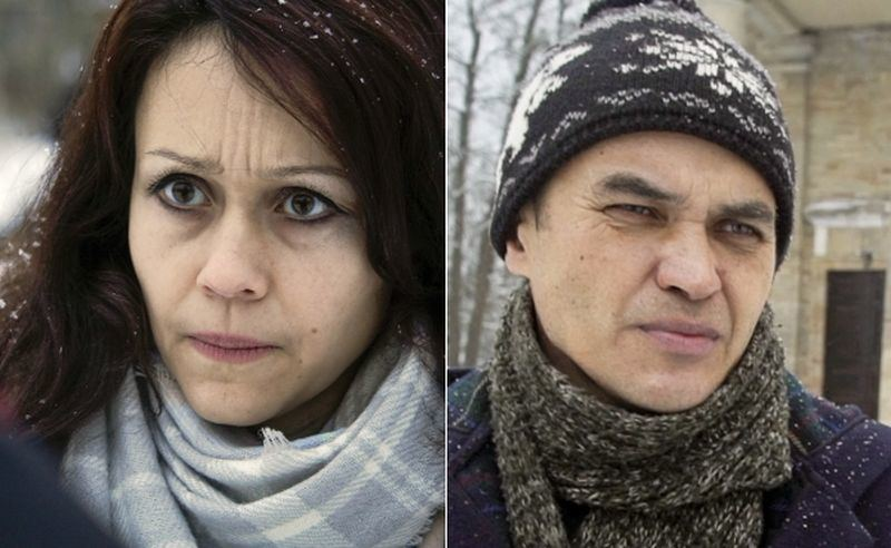 Liudmila Savčiuk ir Maratas Mindijarovas