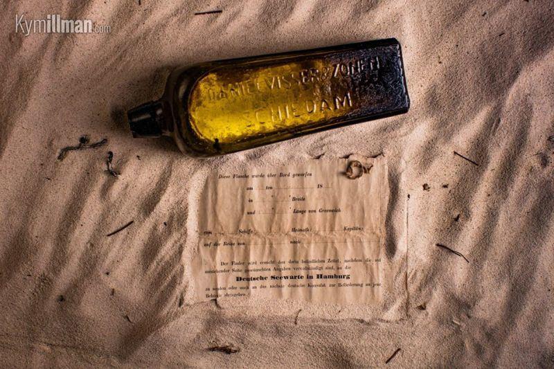 Rasta žinutė butelyje