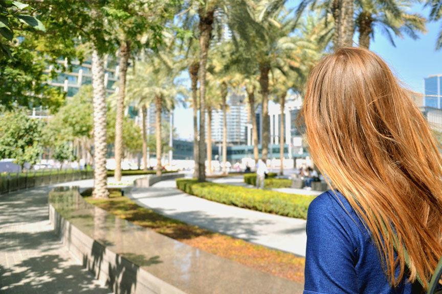 S. Valiaugaitė Dubajuje
