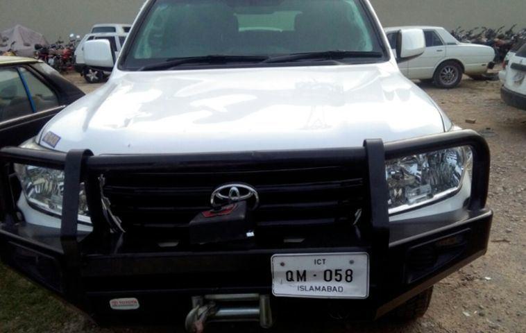 JAV diplomato vairuotas automobilis mirtinai sužalojo motociklininką