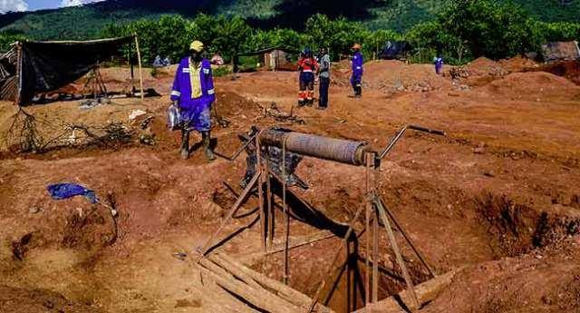 Aukso kasykloje Ganoje žuvo 6 šachtininkai