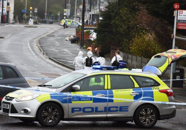 Policija Londone nušovė vyrą
