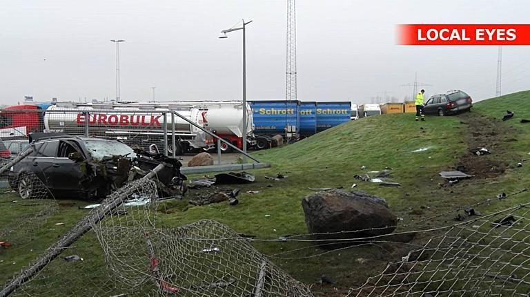 Lietuviai išvertė tvorą Danijoje