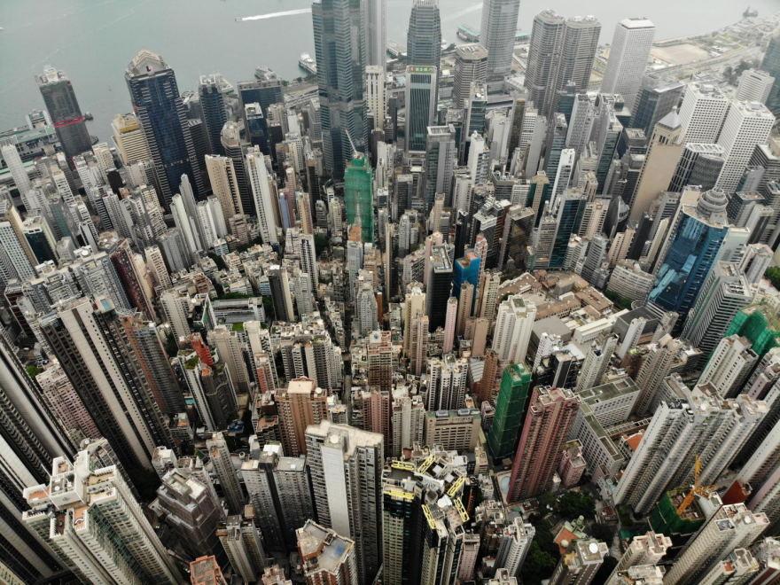 Įspūdingas Honkongo dangoraižių miškas | GALERIJA