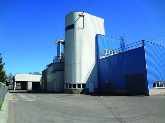 Šveicarų gamykla Biržų rajone