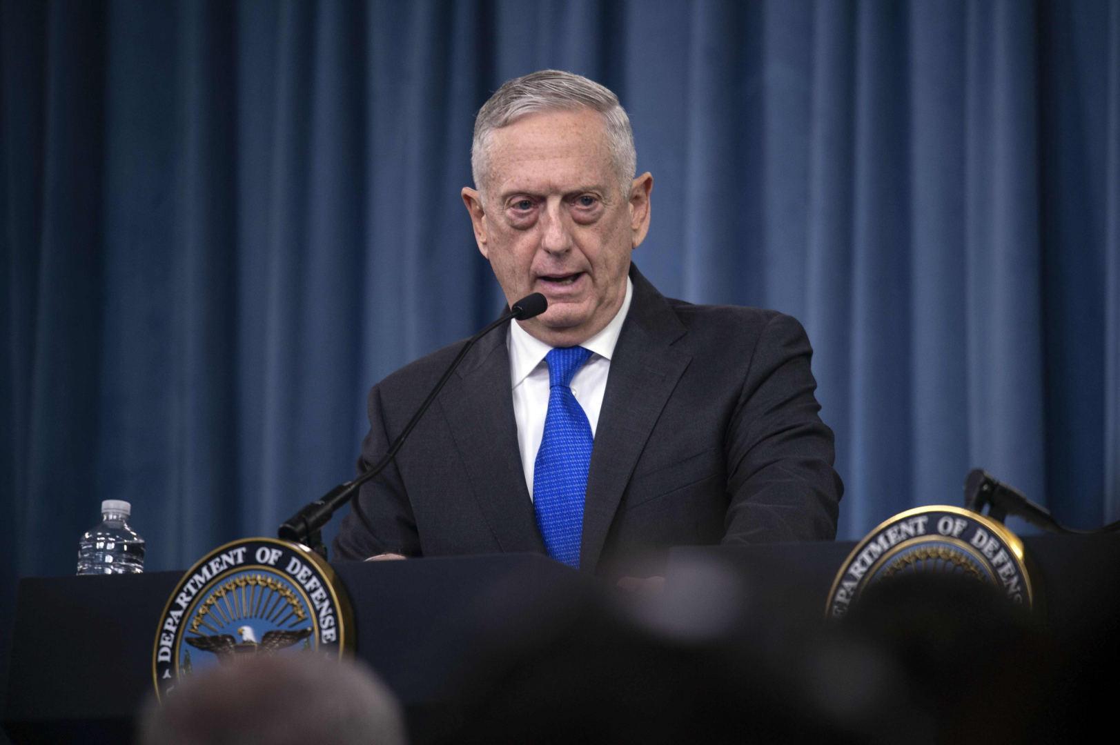 """Vaizdo rezultatas pagal užklausą """"Jamesas Mattisas: JAV įsipareigojimai NATO – geležiniai"""""""
