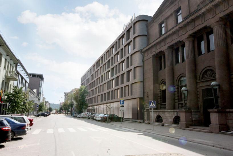 Kauno Maironio gatvėje planuojamas viešbutis