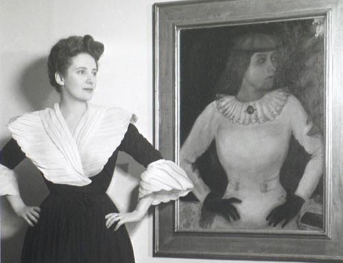 Ida Chagall ir jos portretas