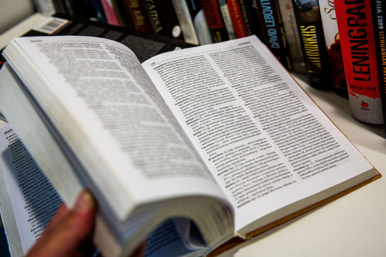 lieknėjimo žodyno reikšmė