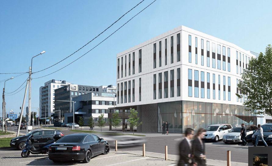 """""""YIT Kausta"""" Šnipiškėse statys naują biurų pastatą"""